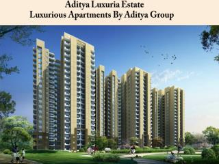Aditya Luxuria Estate Ghaziabad Call @  91-9560090108