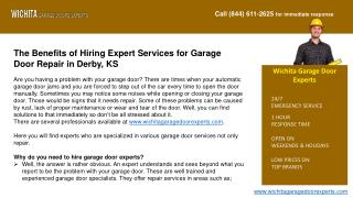 Garage Door Repair and Installation Services in Wichita