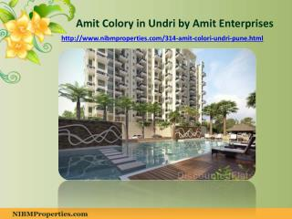 Amit Colory in Undri Pune