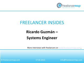 Ricardo Guzmán - Systems Engineer