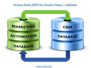 Online Sales CRM for Small Teams - Infilead