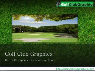 Stunning Golff Course Graphics : Golf Club Graphics