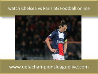 watch Chelsea vs Paris SG Football online