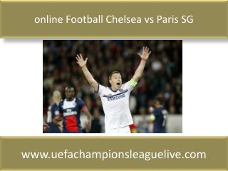 online Football Chelsea vs Paris SG
