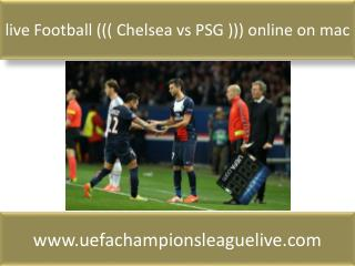 hot streaming@@@@ Chelsea vs PSG
