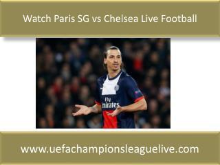 watch Chelsea vs PSG live tv stream