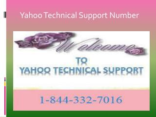 contact 1-844-332-7016 Yahoo email account issues