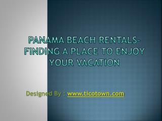 Osa vacation rentals