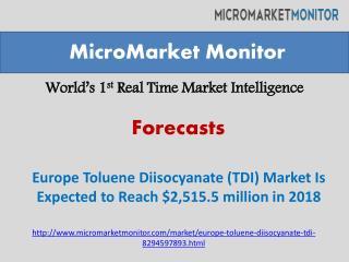 Europe Toluene Diisocyanate (TDI) Market