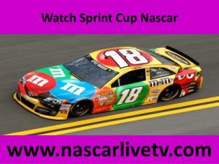 Watch Sprint Cup Nascar