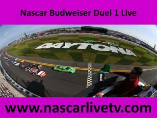 Nascar Budweiser Duel 1 Live