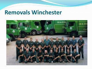Removals wintchester