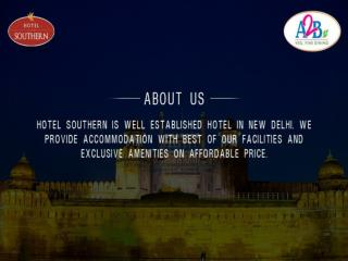 New Delhi's Best Restaurant At Hotel Southern