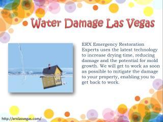 Water Damage Las Vegas