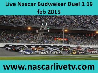 Nascar Sprint Cup 2015 Budweiser Duel 1