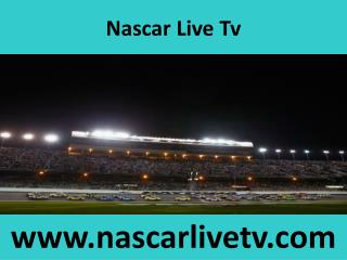 nascar tv coverage