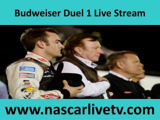 Watch Nascar Budweiser Duel 1 2015 Online Live