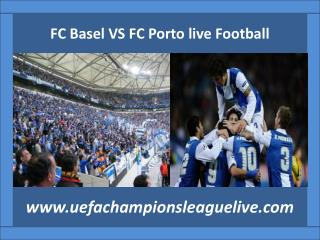 Basel vs FC Porto live Football match