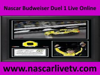 Nascar Complete Laps Budweiser Duel 1