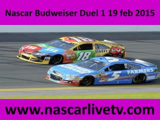 Watch Nascar Budweiser Duel 1 Streaming
