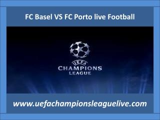 watch Basel v Porto live UEFA Football 2015 match