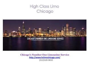High Class Limo Chicago