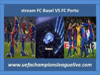 live Football FC Basel VS FC Porto
