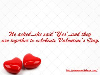 Valentine's Day Preparation - Nashikfame