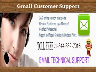 Contact Gmail Tech Support 1-844-332-7016 for excellent solu