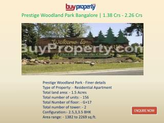 Prestige Woodland Park Township within Your Budgets with All