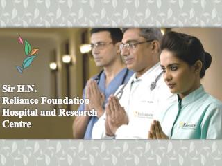 Sir HN Reliance Foundation