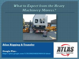 Most needed services made available by Heavy Equipment Mover