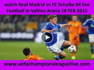 live Football ((( Schalke vs Real Madrid ))) online on mac