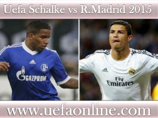 wathc Football stream Schalke vs R.Madrid >>>>>