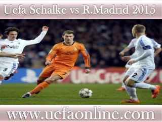 hot streaming@@@@ Schalke vs R.Madrid ((())))