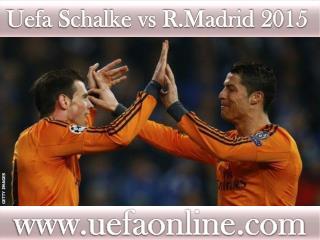 watch Schalke vs R.Madrid live Football in Veltins-Arena 18