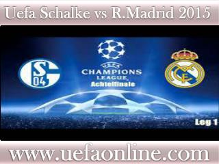 IOS stream Football ((( Schalke vs R.Madrid )))