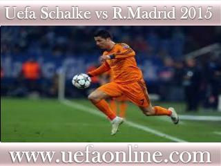 ((( Schalke vs R.Madrid ))) Live Football stream