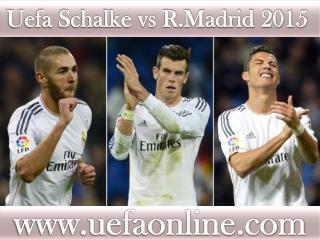 Football sports ((( Schalke vs R.Madrid ))) match live 18 FE