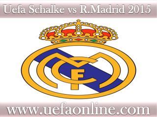live Football ((( Schalke vs R.Madrid ))) online on mac