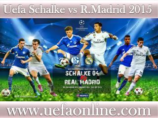 hot streaming@@@@ R.Madrid vs Schalke