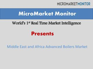 Middle East and Africa Advanced Boilers Market