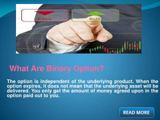 Make Money With Binary Options