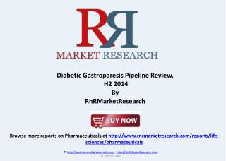 Diabetic Gastroparesis Therapeutic Pipeline Review H2 2014