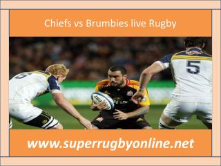 Chiefs vs Brumbies live Rugby