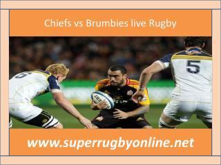 watch ((( Chiefs vs Brumbies ))) live broadcast