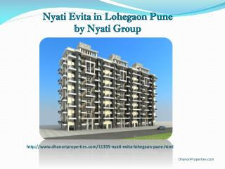 Nyati Evita in Lohegaon Pune by Nyati Group