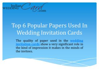 Wedding Invitations - Custom Design cards