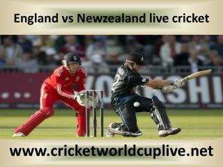 England vs Newzealand live cricket