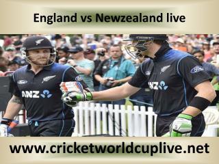 WC 2015 LIVE MATCH ((( England vs Newzealand )))